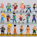 6pcs/lot  Dragon Ball Z  Action Figure Toys Collection Anime Doll  Dragon Ball Action Figure