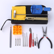 купить 17pcs Clock Watch Tools Watch Repair Tool Kit Set Watch Case Opener Link Spring Bar Remover Hand Tool Set horloge gereedschap в интернет-магазине