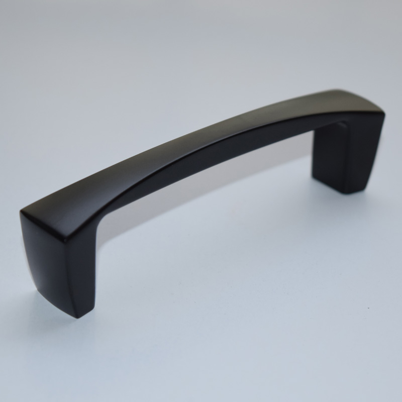 Dresser Drawer Pull Handles Knobs Black Cabinet Hardware Decorative ...