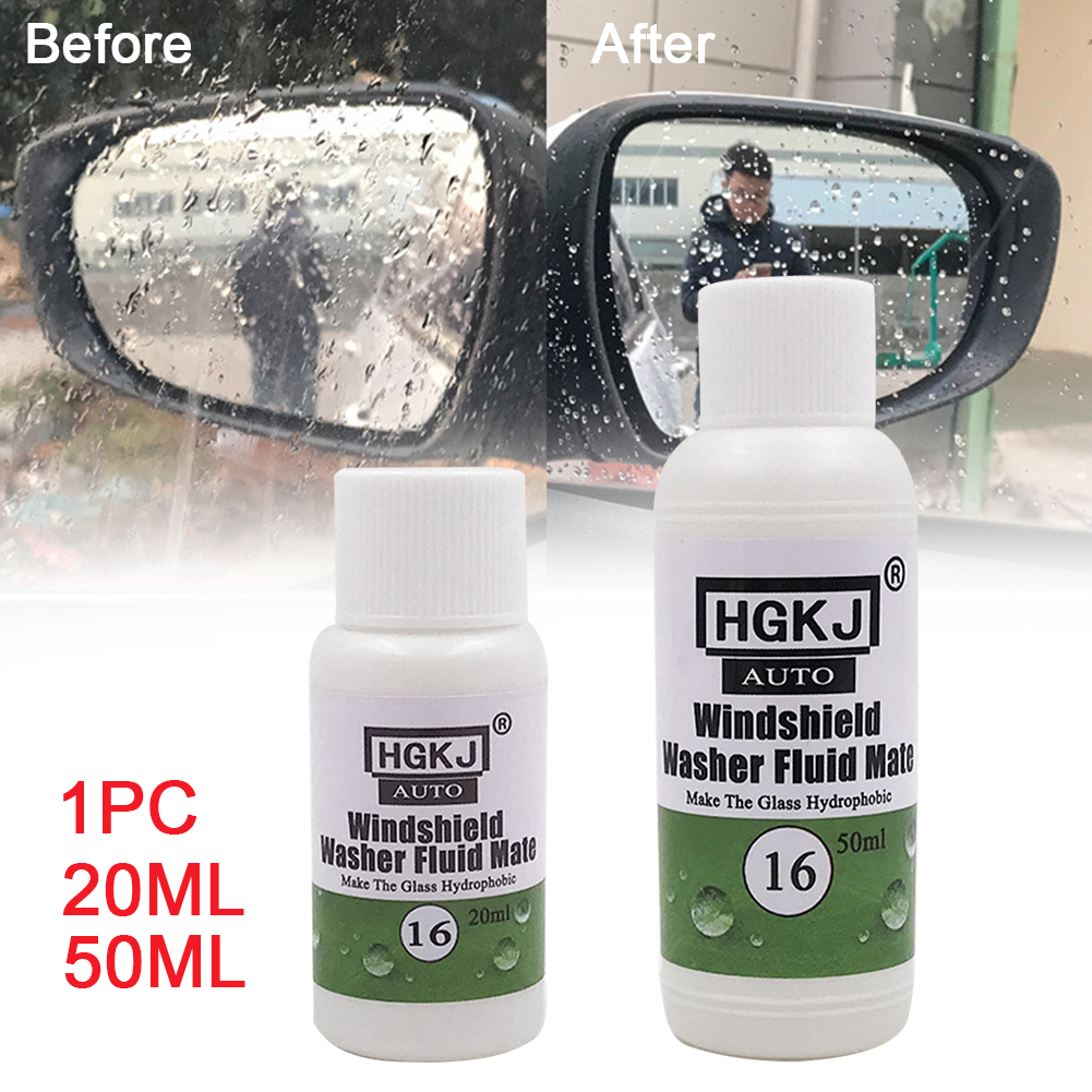 Antirain Car glass Car Wash Coating Glass Hydrophobic Mate For Windshield Washer Fluid Accessories Lasting Styling For HGKJ 16(China)