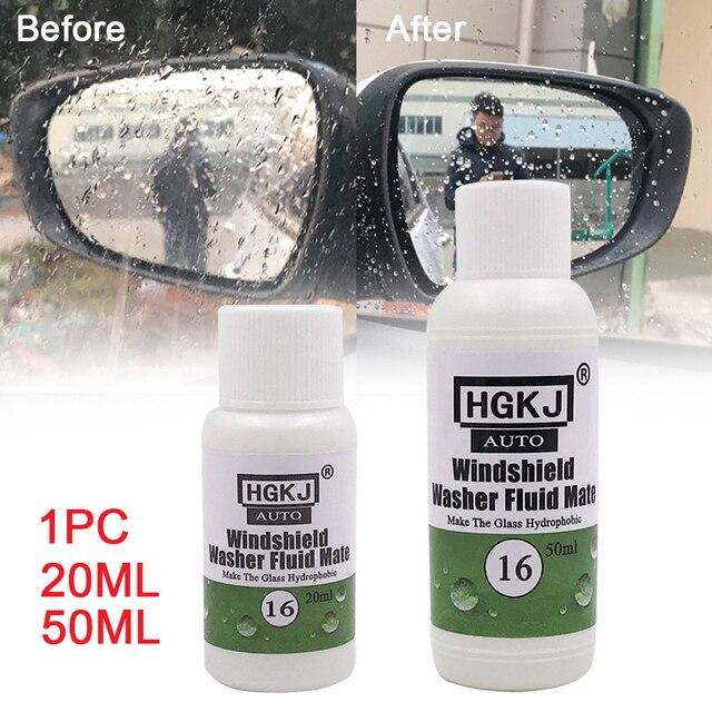 ציפוי זכוכית הידרופובי Mate עבור שמשת מכונת כביסה נוזל אביזרי לשטוף רכב סופר חזק לאורך זמן סטיילינג עבור HGKJ 16