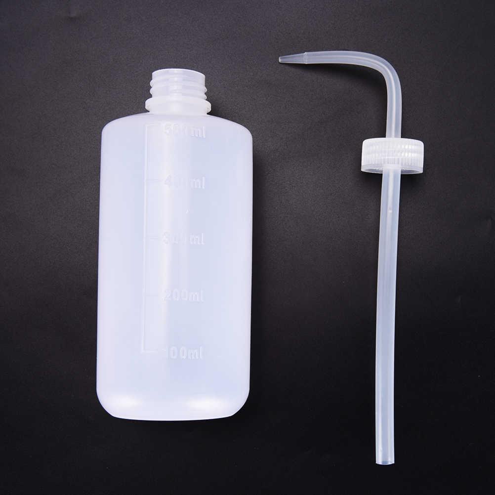 Portabel Botol Meremas Dengan Semprot Nozzle Handheld Mengalir Panjang Melengkung Ketel Sprayer Penyiraman Tanaman Bunga 20.5*6 cm