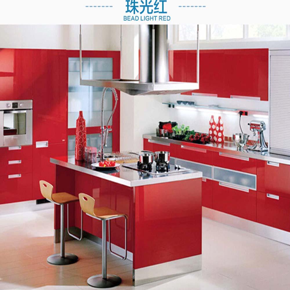 Kitchen Cabinet Self adhesive Wallpaper Sticker Wardrobe ...