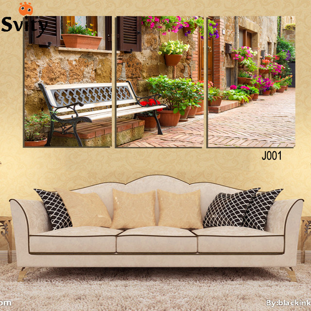 Online Shop 3 Pcs gardening scenery Painting Wall Art Picture Home ...