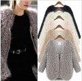 2016 зима новый женский овечьей шерсти пальто шаль женская мода пейзажи и пончо ES дамы винтаж теплый расходы w-056