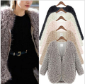 2016 winter newest female lambswool coat shawl fashion women scapes and poncho ES ladies vintage warm costs w-056