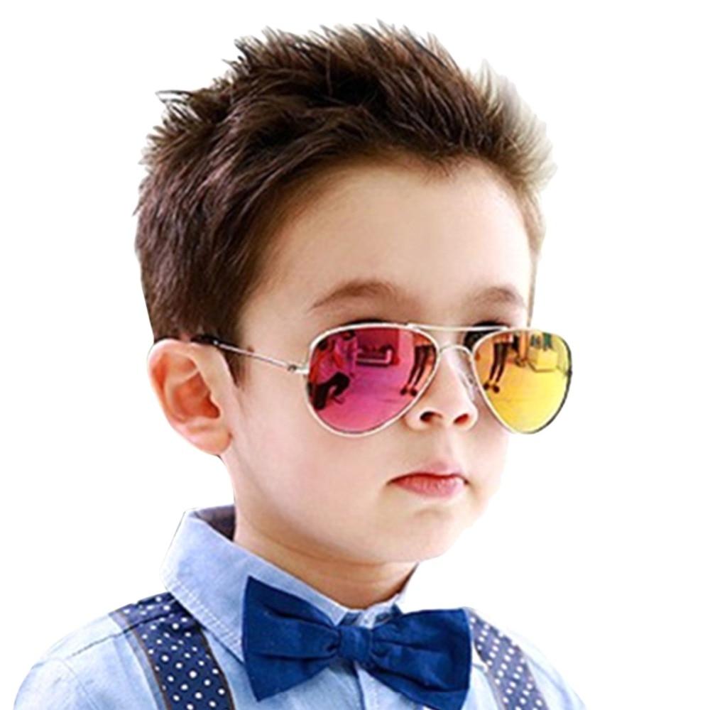 bd6135c75b850e Mignon Nouveau Design 2018 Enfants Enfants lunettes de Soleil 100% UV  Protection Lunettes de soleil Pour Enfants Bébé Fille Garçons lunette de  soleil Z2