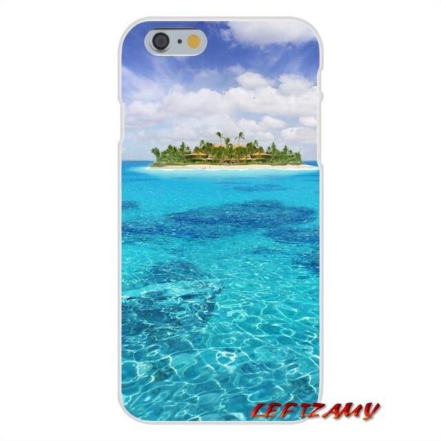 , For Samsung Galaxy A3 A5 A7 J1 J2 J3 J5 J7 2015 2016 2017 The Sea Waves Beach spray ocean island Accessories Phone Cases Covers