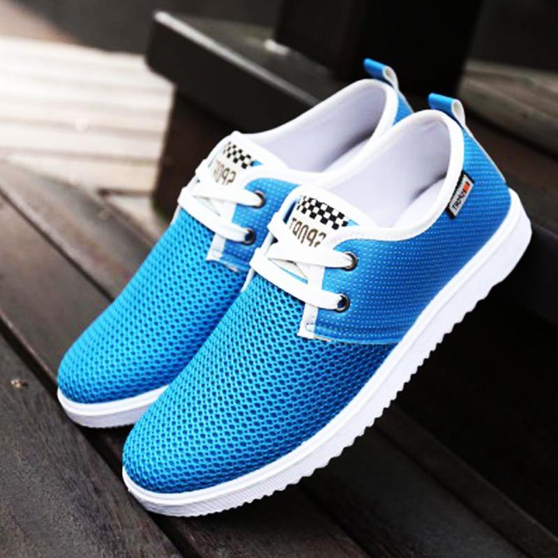Rubber Sole Non-slip Fashion Driving Shoes Men Flats Slip On Loafers Shoes Casual Sport Breathable Shoes