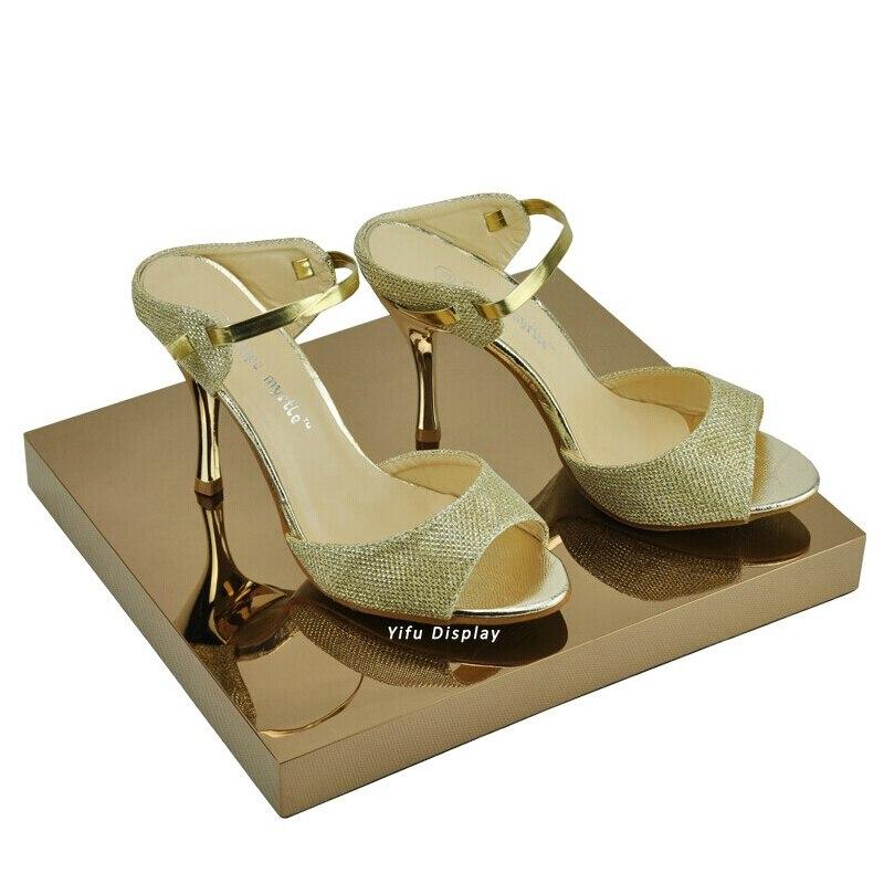 метален рафт за бутикови обувки, тава - Организация и съхранение в къщата - Снимка 2