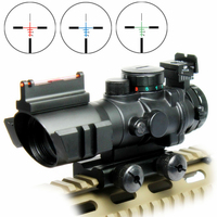 Hot Sale SPIKE 4X32 Hunting Rifle Optical Sight Riflescope With 20mm Rail For Ak47 Gun Accessory