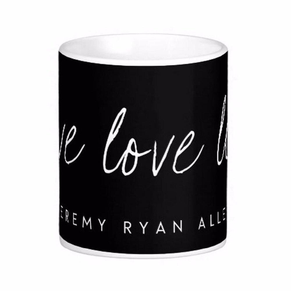 Live Love <font><b>Lift</b></font> White Coffee Mugs Tea Mug Customize Gift By LVSURE Ceramic <font><b>Cup</b></font> Mug Travel Coffee Mugs
