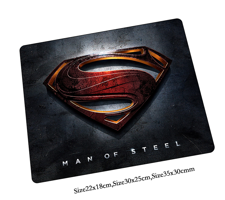 superman mouse pad High-end gaming mousepad big gamer mouse mat pad game computer desk padmouse laptop keyboard large play mats