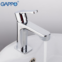 GAPPO 2018 New 1set Brass Bathroom Basin Faucet Codl And Hot Water Mixer Bath Sink Tap