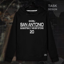 64f2b8b7fa15f Manu Ginobili San Antonio basquetbolista estrella jerseys sudaderas con  capucha sudadera ropa deportiva espuelas streetwear de