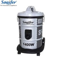 Large capacity vacuum cleaner, dust collector, water filtration, wet and dry, suction device aspirator Sonifer