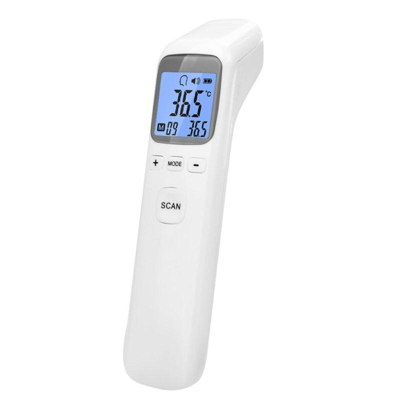 Thermom/ètre num/érique Infrared Baby Adulte Front Thermom/ètre infrarouge sans contact avec r/étro-/éclairage LCD M/énage Termom/ètre