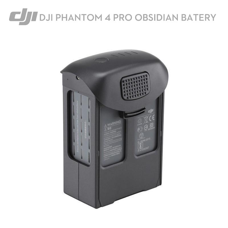 Original DJI Phantom 4 Pro Drone Obsidian Intelligent Obsidian Flight Battery 5870 mAh 30-Mins Flight Time Capacity
