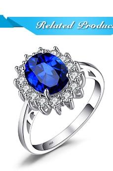 HTB1Nh96fTJ SKJjSZPiq6z3LpXau JPalace Diana Created Blue Sapphire Stud Earrings 925 Sterling Silver Earrings For Women Korean Earings Fashion Jewelry 2019