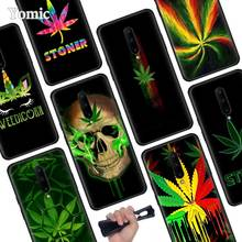 Abstractionism Art high weed Black Soft Case for Oneplus 7 Pro 7 6T 6 Silicone TPU Phone Cases Cover Coque Shell