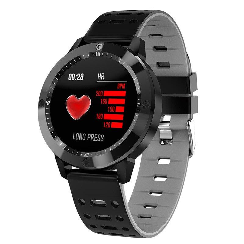 Genial Neue Smart Uhr Männer Ip67 Wasserdicht Gehärtetes Glas Aktivität Fitness Tracker Heart Rate Monitor Sport Männer Frauen Smartwatch Cf58 Im Sommer KüHl Und Im Winter Warm Uhren Herrenuhren