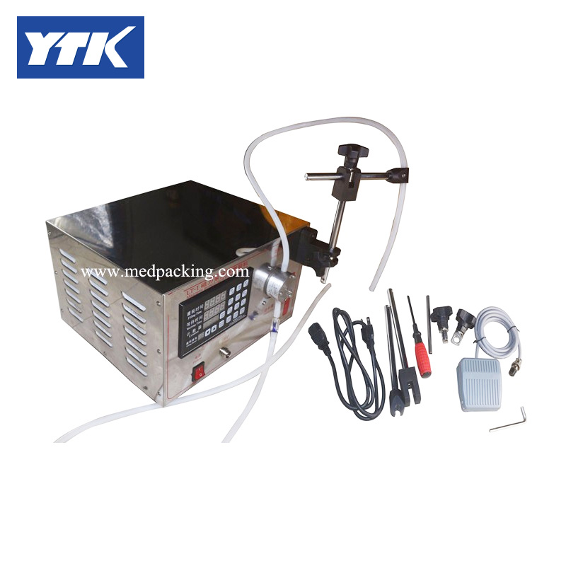 5ml to unlimited Magnetic Pump Micro-computer Filling Machine YS-KK372