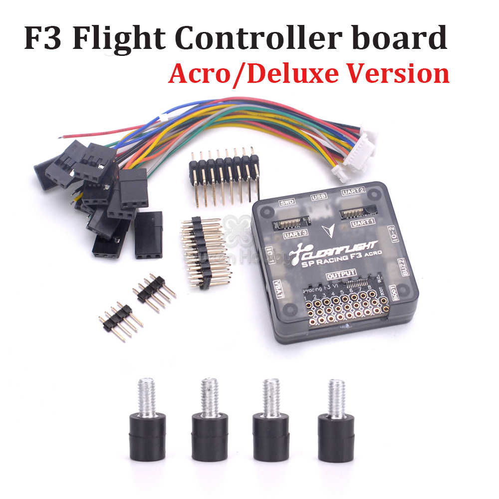 hight resolution of sp racing f3 flight controller board acro 6 dof deluxe 10 dof better than naze32