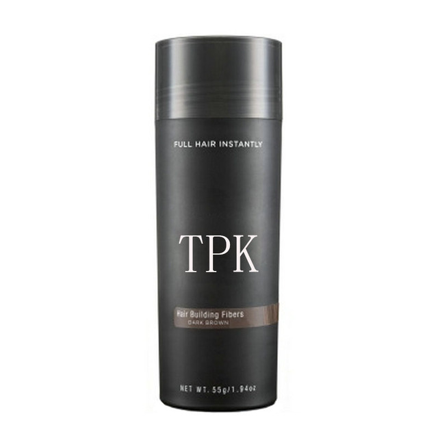 3 pcs hair building fiber TPK 27.5 g 9 colors full hair instantly hair fiber bulk price 5
