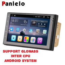 Panlelo 2 Din Android 6.0 Intel CPU Support GLONASS Car Stereo 7 Inch Quad Core 2din Head Unit GPS Navigation Audio Radio