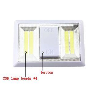 Image 4 - 磁気超高輝度ミニcob ledウォールライトスイッチ夜の光ワイヤレスのために運営ガレージ寝室のクローゼット2018