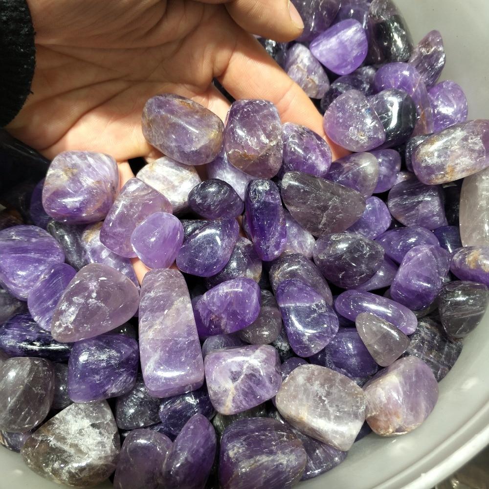 1000g cristal violet naturel traitement poli quartz pierre gravier comme décoration d'aquarium décoration de mariage aquarium