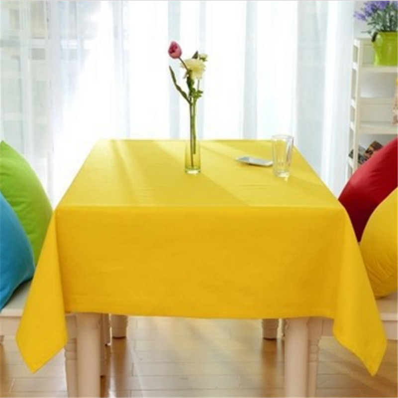 Order: 1 Piece. Square Table Cloth Solid Color Wedding Table Covers White  Cotton Linen Tablecloth For Christmas Kitchen Hotel