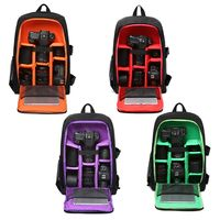 Waterproof Functional DSLR Camera Backpack for Laptops Tripods, Flashes, Lenses and Accessories
