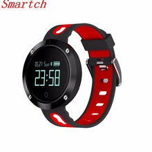 Smartch DM58 умный Браслет Приборы для измерения артериального давления часы трекер монитор сердечного ритма cardiaco IP67 Водонепроницаемый для IOS Android