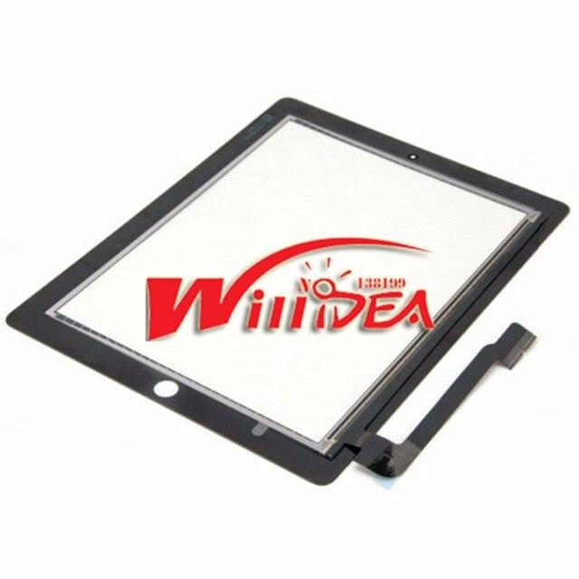 Сенсорный экран для Apple ipad 3 4 для ipad3 для ipad4 сенсорный дигитайзер экран стекло замена