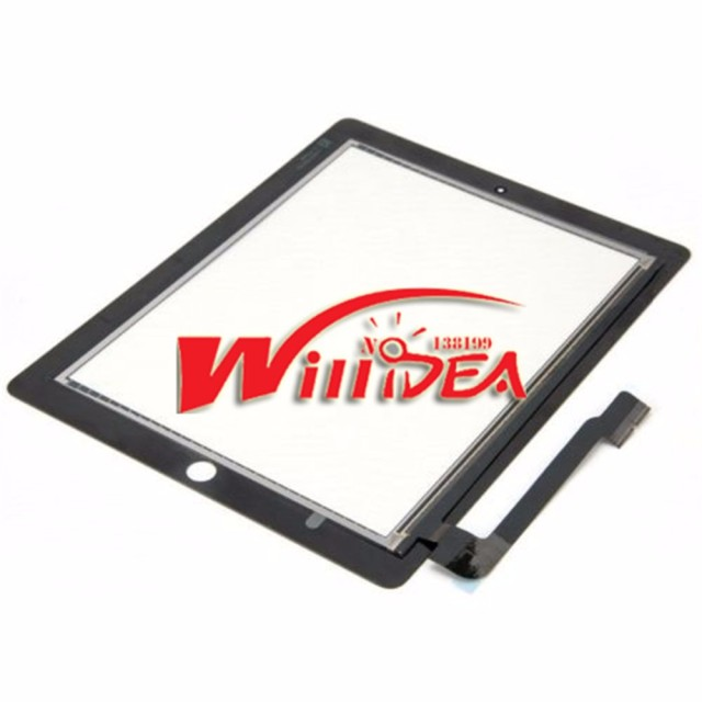touch screen for Apple ipad 3 4 for ipad3 for ipad4 touch digitizer screens glass replacement