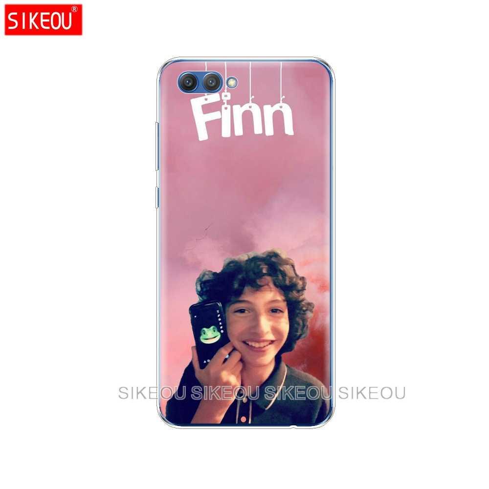 Silikon Sarung Telepon Kasus untuk Huawei Honor 10 V10 3C 4C 5c 5x 4A 6A 6C PRO 6X7X6 7 8 9 Lite Finn Wolfhard Stranger Sesuatu