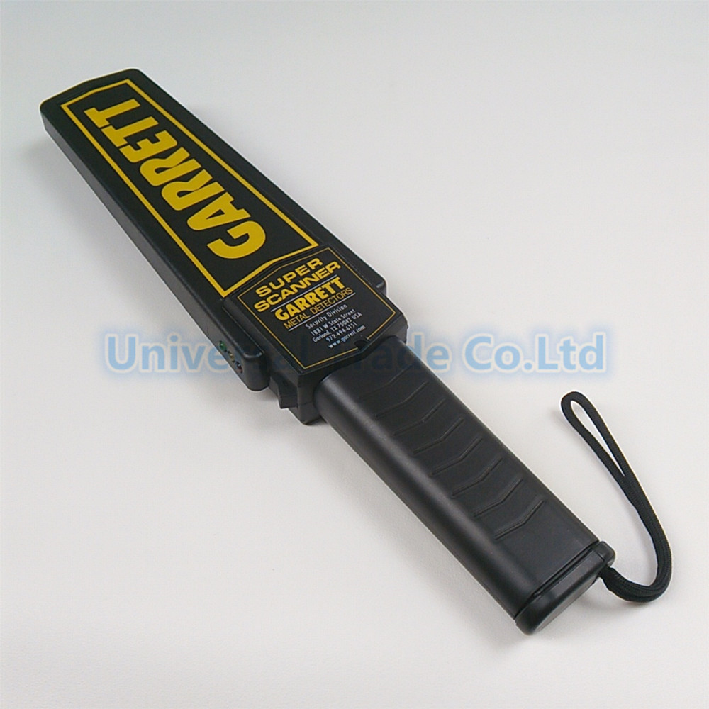 Portable Handheld Metal Detector Super Scanner for Station Security Check