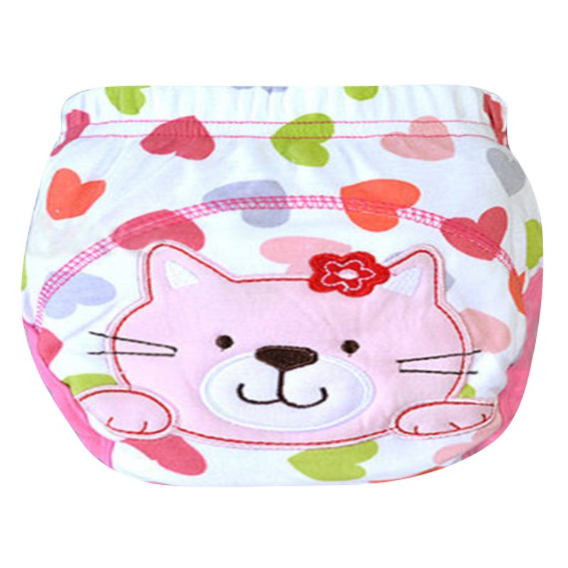 Cuteborn Baby Cloth Diaper Waterproof TPU Panties Clothes Diapers Training Pants Diaper Cover