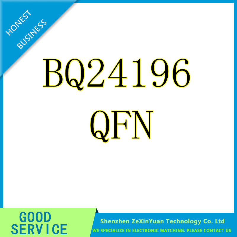 6PCS/LOT BQ24196RGER BQ24196 24196 IC BATT CHARGE MGMT 24VQFN