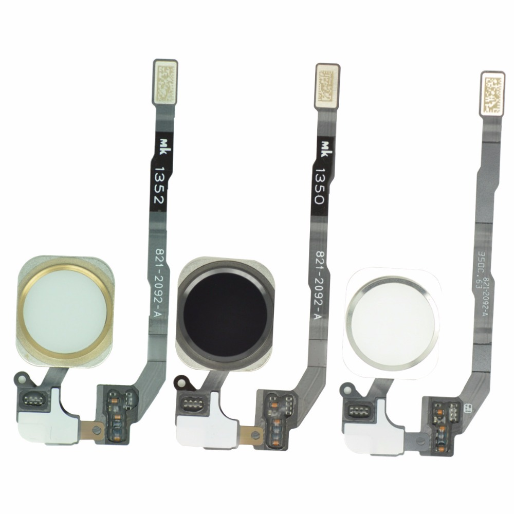 For IPhone 5S Original Home Button Assembly Flex Cable Sensor Ribbon Complete Spare Parts Replacement For Iphone 5s Home Button(China)