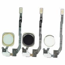Dla iPhone 5S oryginalny przycisk Home montaż Flex Cable sensor wstążka kompletne części zamienne do iPhone 5s przycisk Home tanie tanio W MLLSE Jabłko iPhone