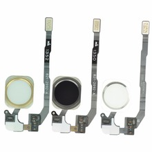 For iPhone 5S Original Home Button Assembly Flex Cable Sensor Ribbon Complete Spare Parts Replacement for Iphone 5s Home Button cheap MLLSE Apple iPhone