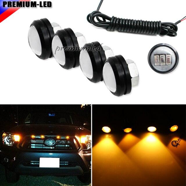 4pc For Ford Raptor Style 3000K Amber LED Lighting Kit For Chevy Dodge Ford GMC Truck  sc 1 st  AliExpress.com & 4pc For Ford Raptor Style 3000K Amber LED Lighting Kit For Chevy ...