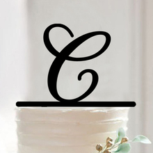 letter c birthday cake topper for anniversary kids birthday party decoration cake topperchina