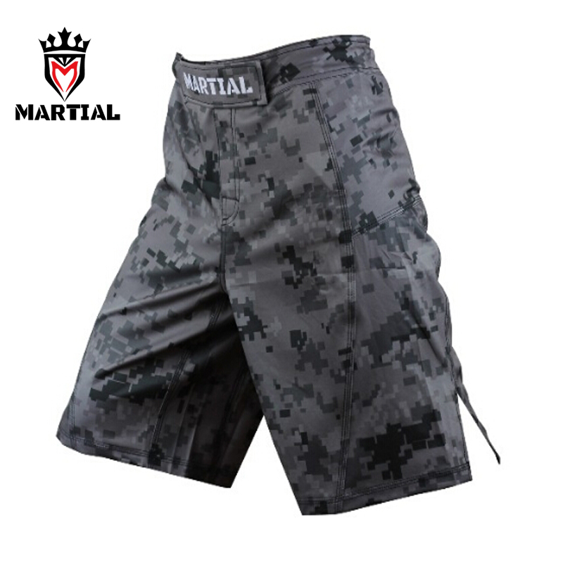 Marciais bjj mma shorts homens crossfit fitness troncos boks kick MMA SHORTS para Bjj/Muay thai/Combate/ kick boxing