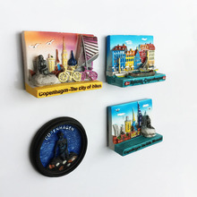 Chile capital Santiago landmark tourist souvenir magnetic stickers  refrigerator(China) 47c944a29
