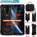 IP68/IP69K (наружная коробка) DOOGEE S90 супер модульный прочный мобильный телефон 6,18 дюймов дисплей 5050 мАч Helio P60 Восьмиядерный 6 ГБ 128 ГБ