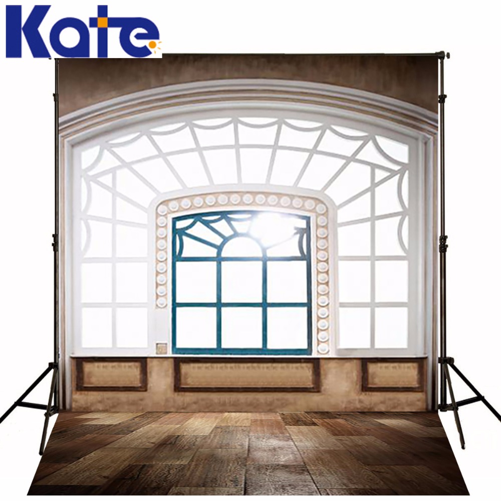 KATE 200X300CM Indoor warmth Photography Backdrops Windows Wooden Fence Photographic Studio Background Wedding Painted Backdrop kate shabby window backdrop for photography portable cotton photographic studio props gothic indoor background 5x7ft