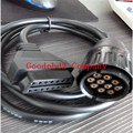 Para BMW ICOM D Cable Cable Cable Motobikes Diagnóstico Motocicletas para icom bmw 10 Pin Adaptador de coche diagostic herramienta obd 16pin cable